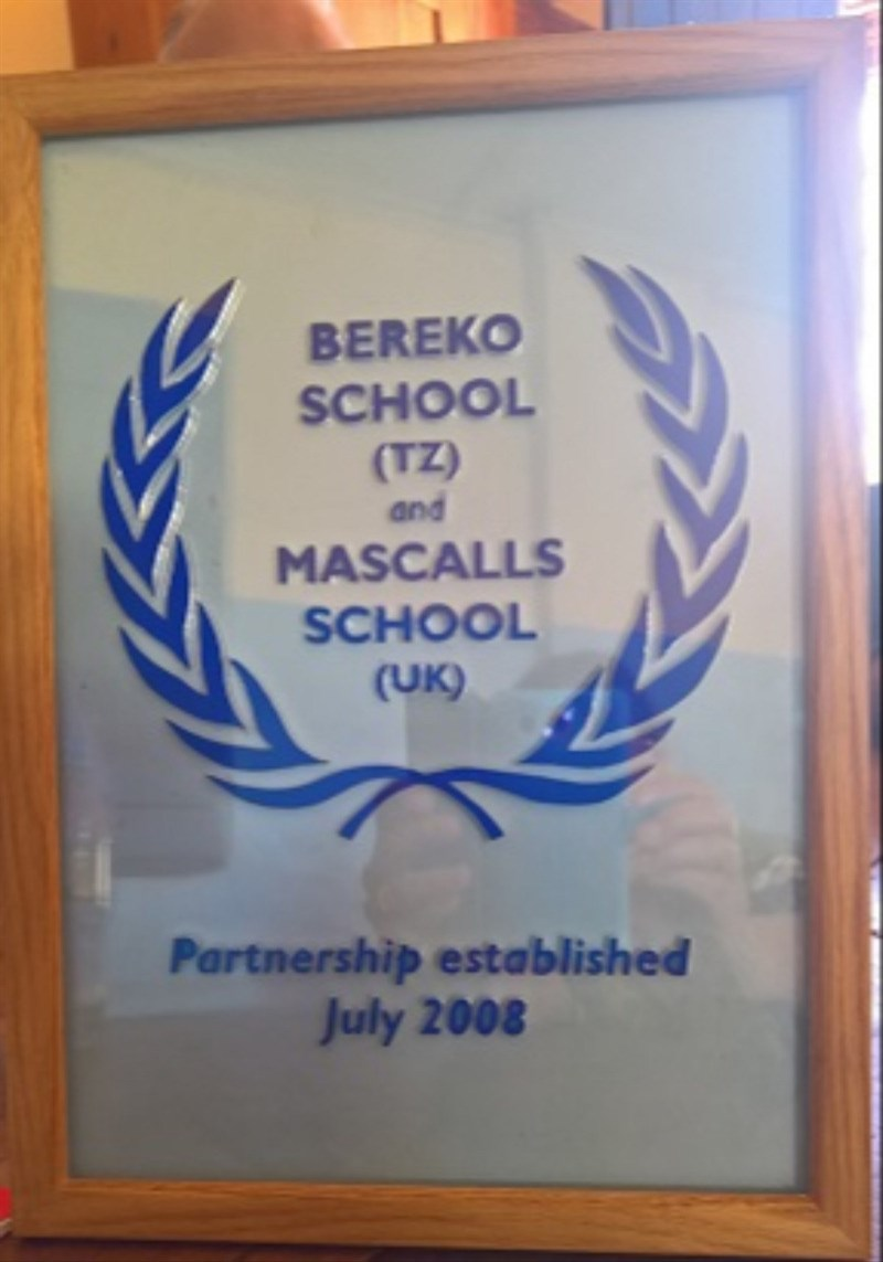 Secondary schools plaque