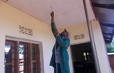 Elec being installed in pastor