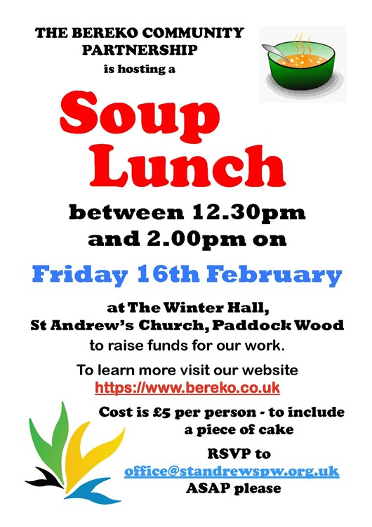 Soup Lunch A4 Poster