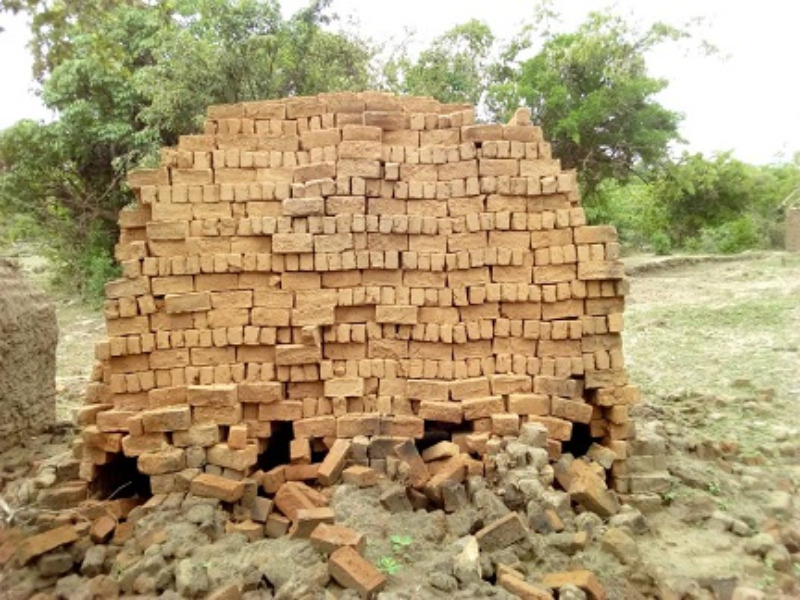 Bricks for Kikilo pastors hous